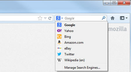 ff-manage search engine
