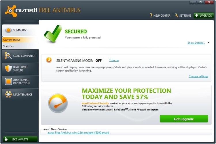 uninstall Avast Free Antivirus