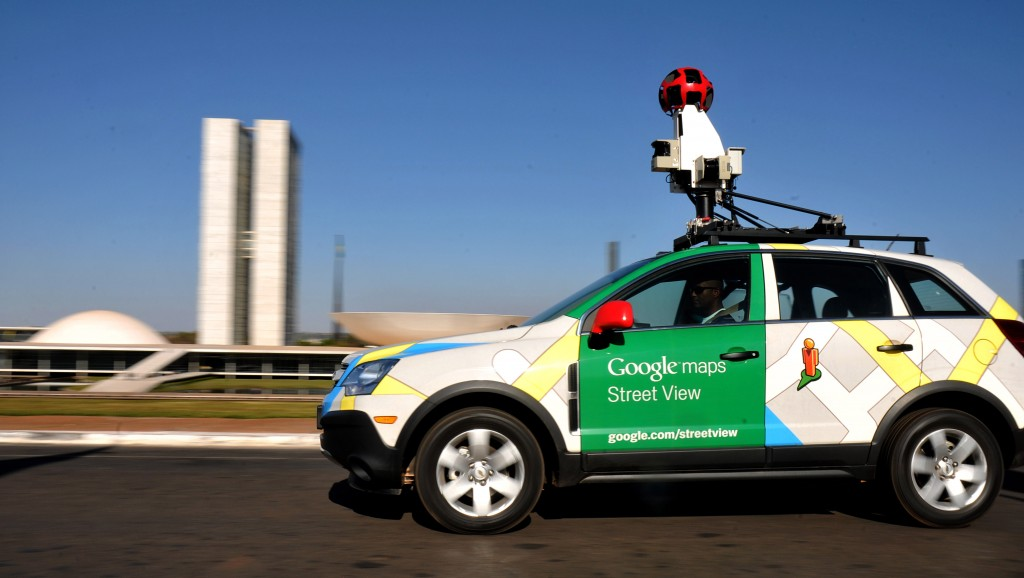 Google Street View cameras