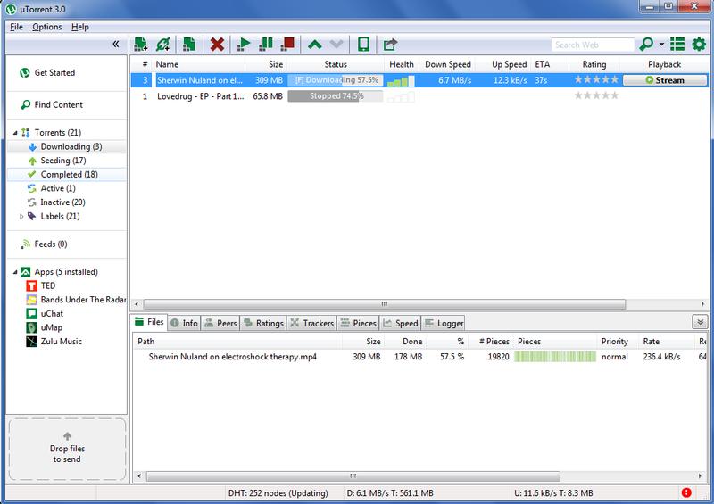 remove uTorrent